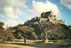 AK / Ansichtskarte Edinburgh Princes Street Edinburgh Castle Kat. Edinburgh