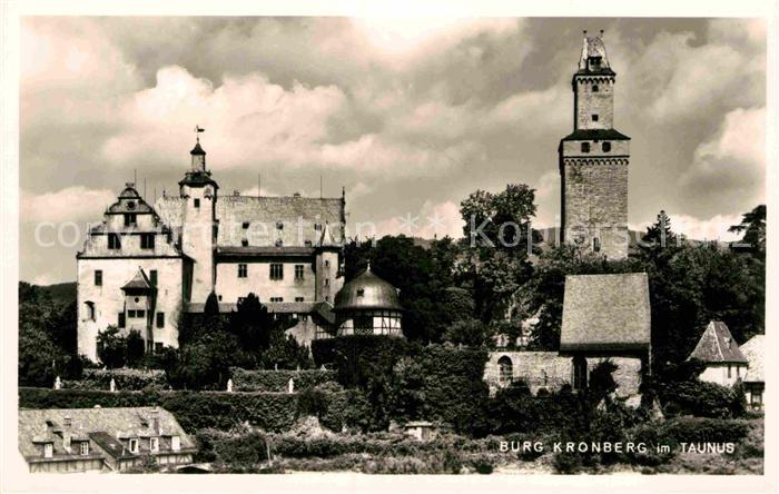 AK / Ansichtskarte Kronberg Taunus Burg Kronberg Kat. Kronberg im Taunus