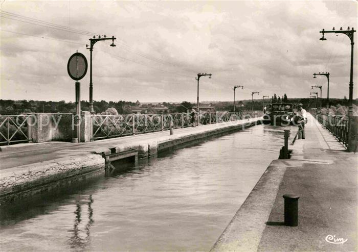 AK / Ansichtskarte Le Guetin Cuvette du Pont Canal