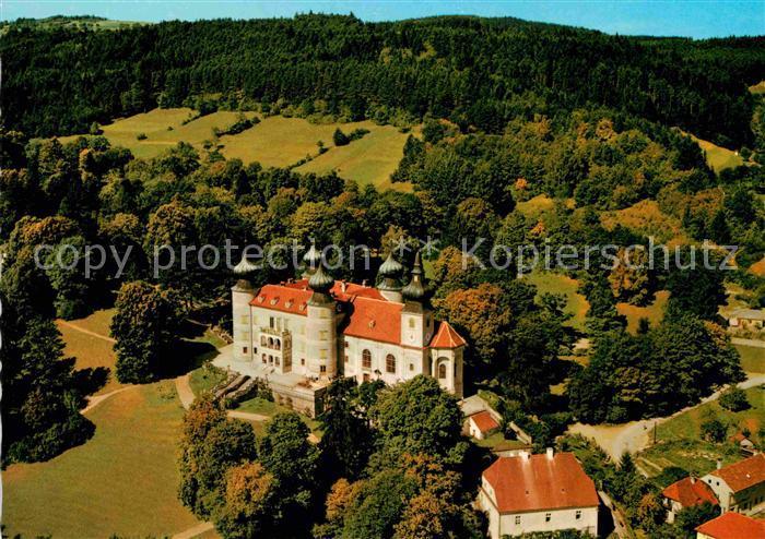 AK / Ansichtskarte Artstetten Poebring Schloss Artstetten Fliegeraufnahme Kat. Artstetten Poebring
