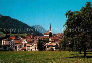 AK / Ansichtskarte Schwyz Ortsansicht Kat. Schwyz