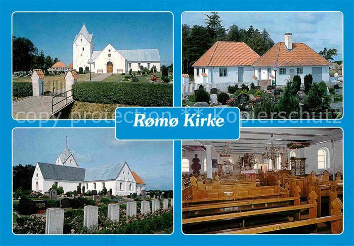 AK / Ansichtskarte Romo Kirke