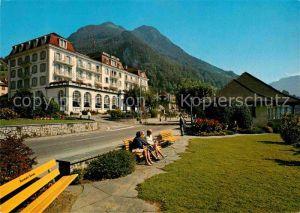 AK / Ansichtskarte Gersau Vierwaldstaettersee Hotel Mueller Rigi Hochfluh Kat. Gersau