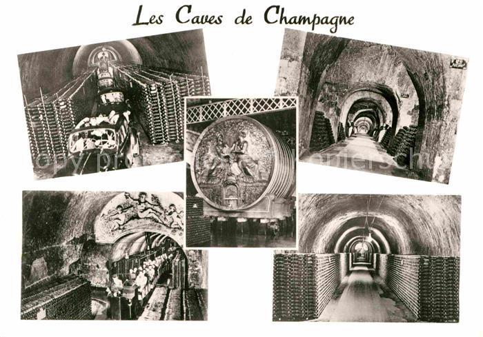 AK / Ansichtskarte Epernay Marne Les Caves de Champagne Mercier Kat. Epernay
