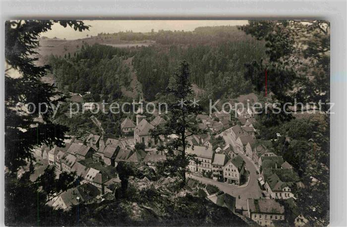 AK / Ansichtskarte Berneck Fichtelgebirge Blick vom Sonnentempel Kat. Bad Berneck