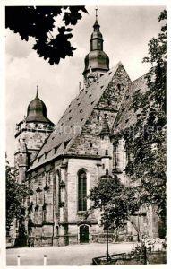 AK / Ansichtskarte Coburg Moritzkirche Kat. Coburg