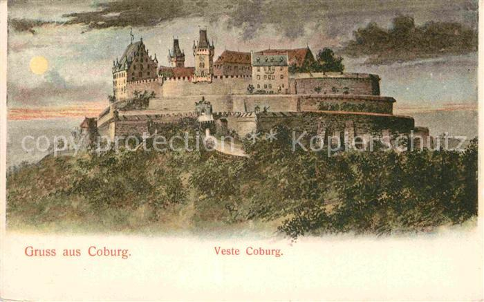 AK / Ansichtskarte Coburg Veste Coburg Kat. Coburg