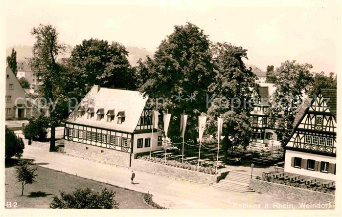 AK / Ansichtskarte Koblenz Rhein Weindorf  Kat. Koblenz