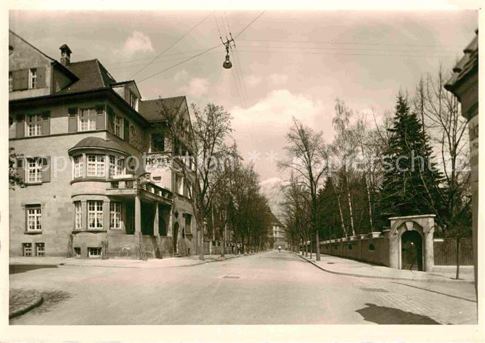 AK / Ansichtskarte Schwenningen Neckar Karlstrasse Hotel  Kat. Villingen Schwenningen
