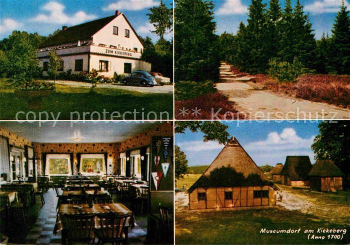 AK / Ansichtskarte Ehestorf Harburg Kiekeberg Museumdorf Kat. Rosengarten
