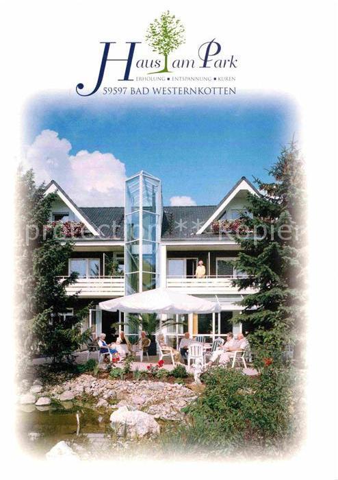 AK / Ansichtskarte Bad Westernkotten Haus am Park Kat. Erwitte