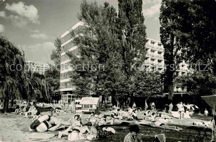 AK / Ansichtskarte Siofok Szallodsor es strand Hotels Strand Kat. Siofok