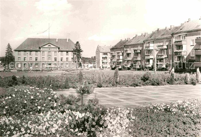 AK / Ansichtskarte Bad Freienwalde Platz der Jugend Kat. Bad Freienwalde