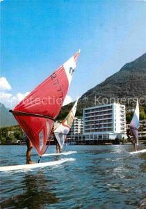 AK / Ansichtskarte Paradiso TI Hotel du Lac Seehof