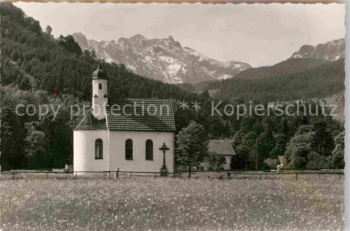 AK / Ansichtskarte Halblech Kapelle Kat. Halblech