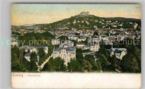 AK / Ansichtskarte Coburg Stadtblick mit Veste Coburg Kat. Coburg