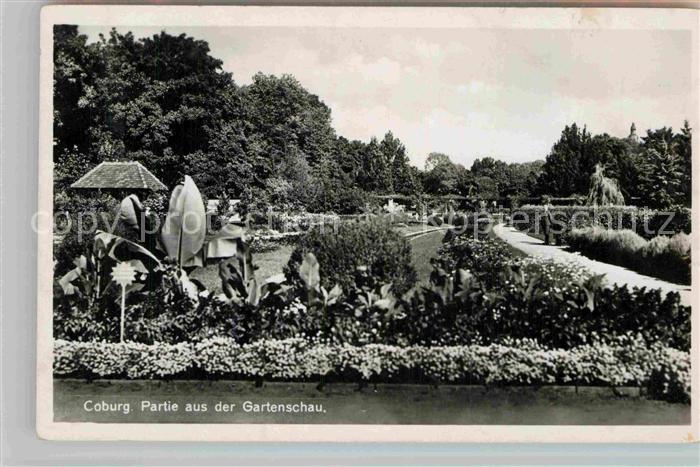 AK / Ansichtskarte Coburg Partie aus der Gartenschau Kat. Coburg