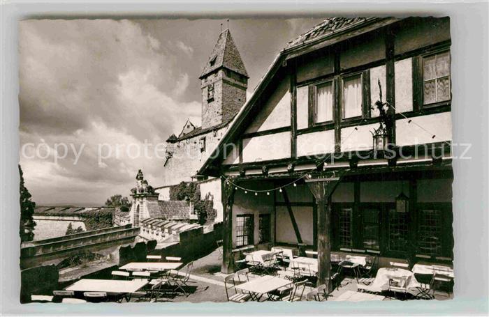AK / Ansichtskarte Coburg Veste Coburg Burgschaenke und Hotel Der ...