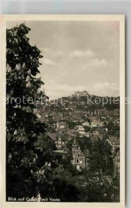 AK / Ansichtskarte Coburg Stadt und Veste Coburg Kat. Coburg