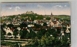 AK / Ansichtskarte Coburg Blick von der Capelle auf Stadt und Veste Coburg Kat. Coburg