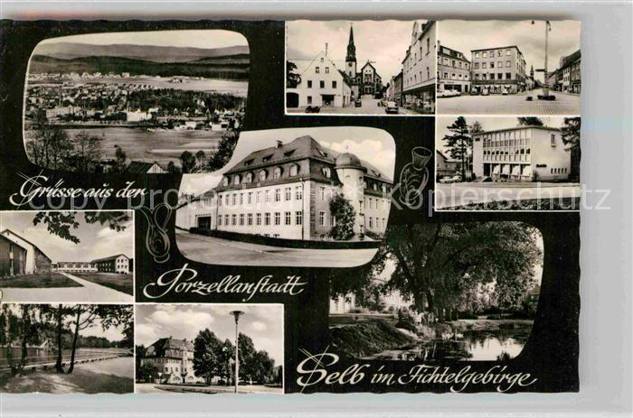 AK / Ansichtskarte Selb Panorama Stadtansichten Kat. Selb