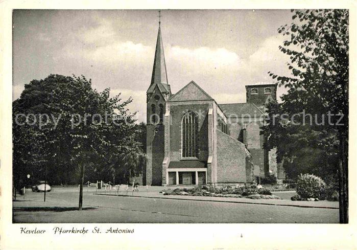 AK / Ansichtskarte Kevelaer Pfarrkirche St Antonius Kat. Kevelaer