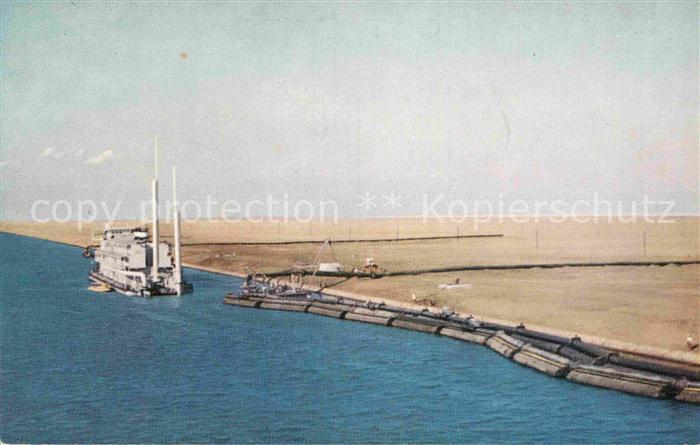 AK / Ansichtskarte Suez Suez Canal Serial No 2 Kat. Aegypten