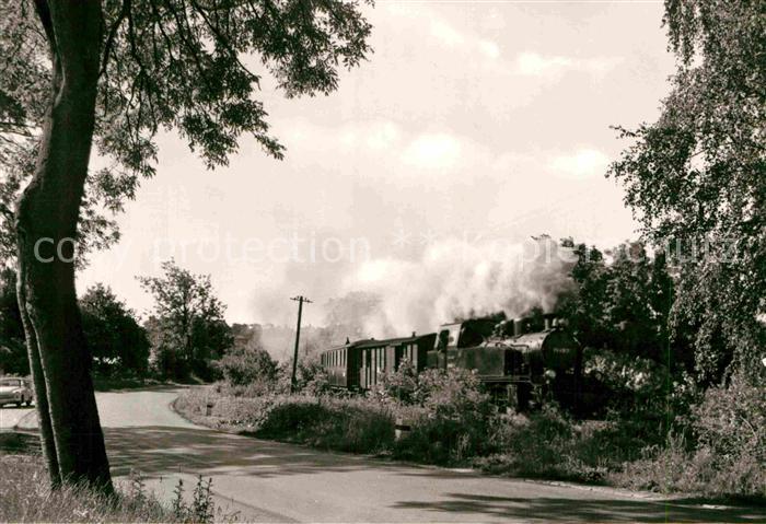 AK / Ansichtskarte Lokomotive Kleinbahn Insel Ruegen Kat. Eisenbahn