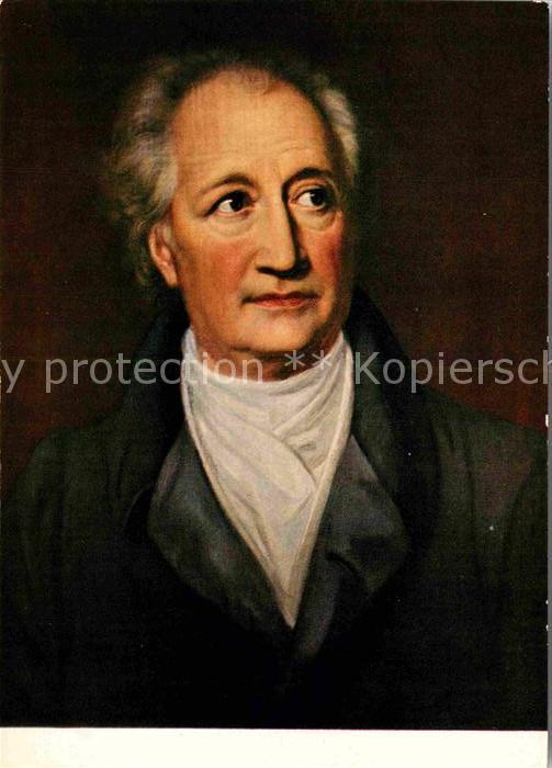 AK / Ansichtskarte Goethe Johann Wolfgang von Julie Graefin von Egloffstein  Kat. Dichter
