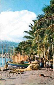 AK / Ansichtskarte Saint Pierre Martinique Rentree des filets sur la plage