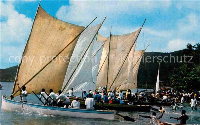 AK / Ansichtskarte Martinique Course de yoles au Marin Kat. Martinique