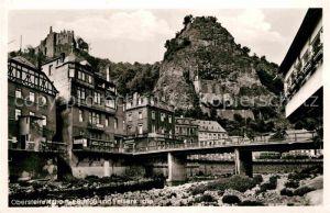 AK / Ansichtskarte Oberstein Nahe mit Schloss und Felsenkirche Kat. Idar Oberstein