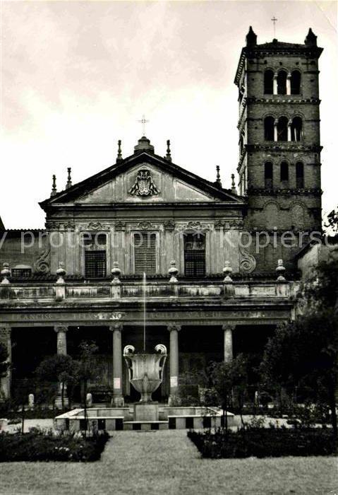 AK / Ansichtskarte Roma Rom Basilica di Santa Cecilia Kat.