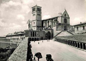 AK / Ansichtskarte Assisi Umbria Basilica di San Francesco Kat. Assisi