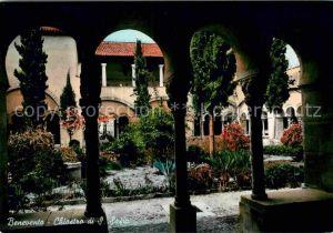 AK / Ansichtskarte Benevento Chiostro di Santa Sofia Kloster Kat. Benevento