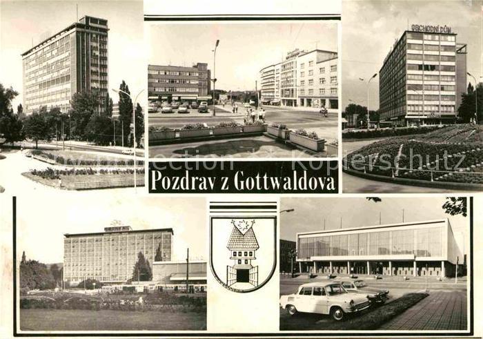 AK / Ansichtskarte Gottwaldov Tschechien Stadtansichten Kat. Zlin