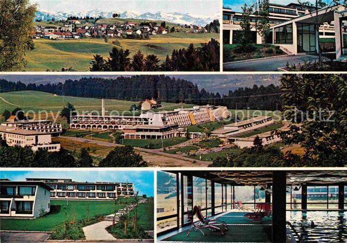 AK / Ansichtskarte Scheidegg Allgaeu Kurzentrum Hotel Rosenalm  Kat. Scheidegg