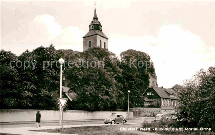 AK / Ansichtskarte Greven Westfalen St Martini Kirche Kat. Greven