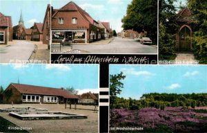 AK / Ansichtskarte Ottenstein Ahaus St Georgs Kirche Ahauser Str St Johannes Kapelle Kindergarten Wacholderhain