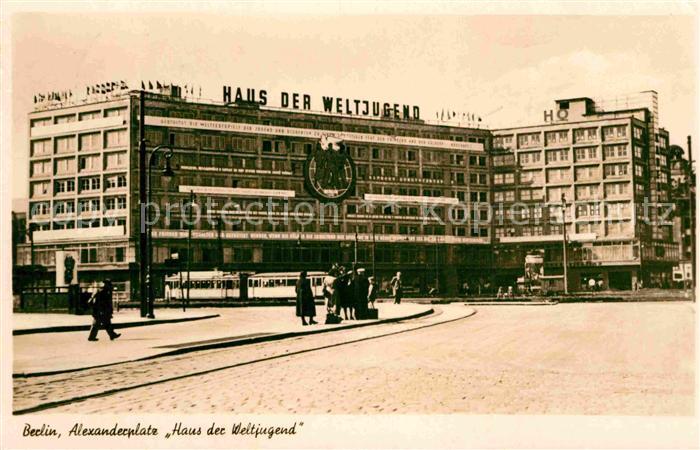 AK / Ansichtskarte Berlin Alexanderplatz Haus der Weltjugend Kat. Berlin