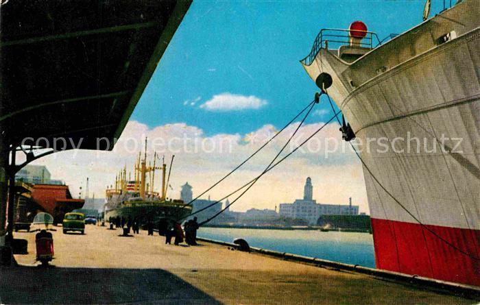 AK / Ansichtskarte Yokohama Hafen Kat. Yokohama