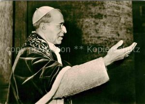 AK / Ansichtskarte Papst Papst Pius XII.  Kat. Religion