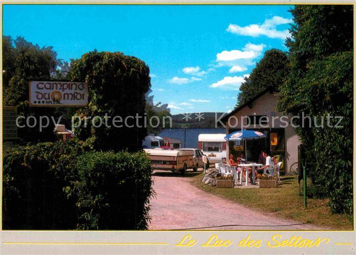 AK / Ansichtskarte Montsauche les Settons Camping de la Plage du Midi  Kat. Montsauche les Settons