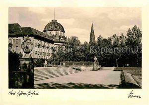 AK / Ansichtskarte Posen Poznan Ansiedlungskommission und Paulikirche Kat. Poznan