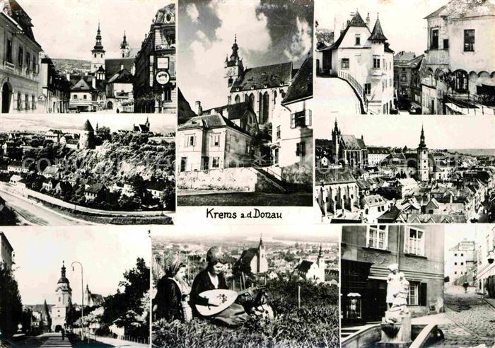 AK / Ansichtskarte Krems Donau Kirche  Kat. Krems an der Donau