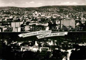 AK / Ansichtskarte Stuttgart Panorama  Kat. Stuttgart