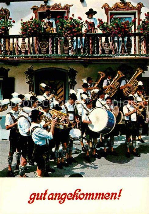 AK / Ansichtskarte Musikanten Trommel Posaune Trompete  Kat. Musik