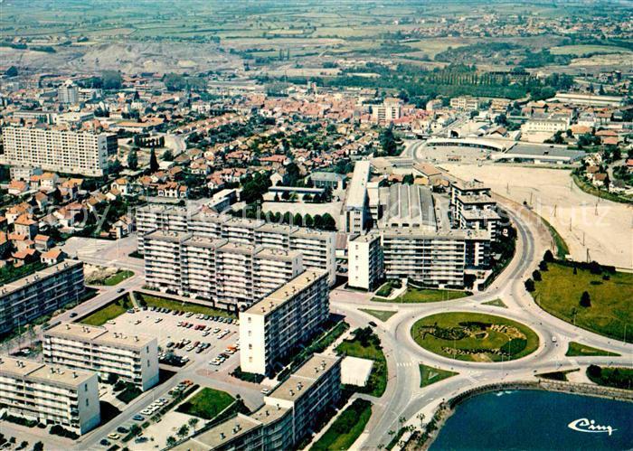 AK / Ansichtskarte Montceau les Mines Fliegeraufnahme Kat. Montceau les Mines