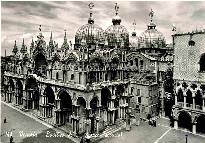 AK / Ansichtskarte Venezia Venedig Basilica di S. Marco Kat.