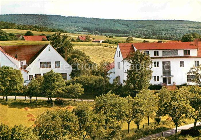 Ak Ansichtskarte Bad Holzhausen Luebbecke Pension Storck Haus